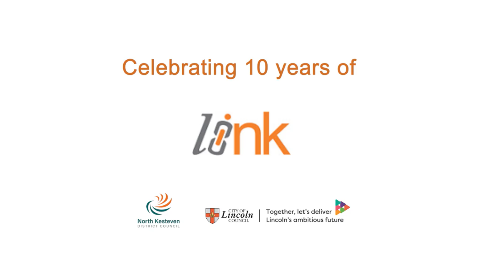 Link logo alongisde NKDC and COLC logos